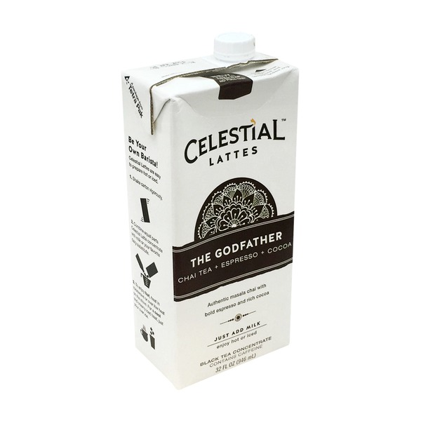 Celestial Seasonings The God Father Latte