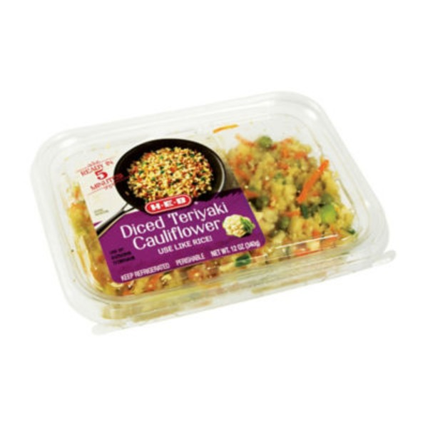 H-E-B Diced Teriyaki Cauliflower