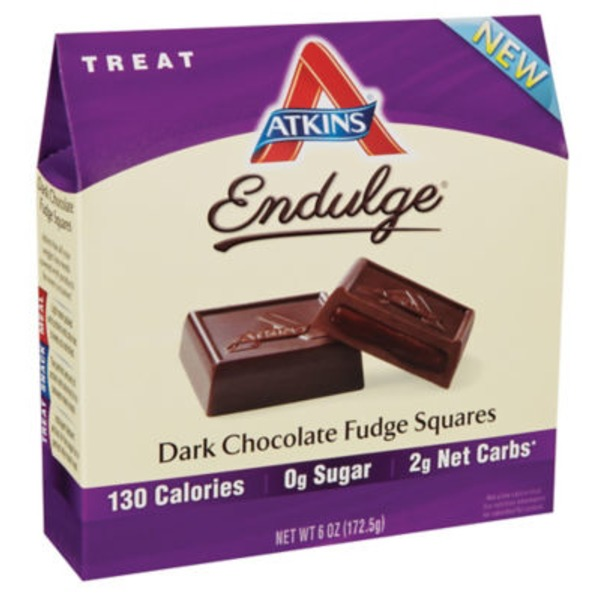 Atkins Endulge Dark Fudge Chocolate Squares