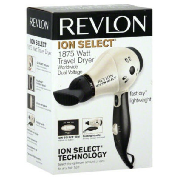 Revlon Travel Styler, Fast Dry, Perfect Heat, Box