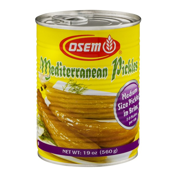 Osem Mediterranean Pickles Medium Size