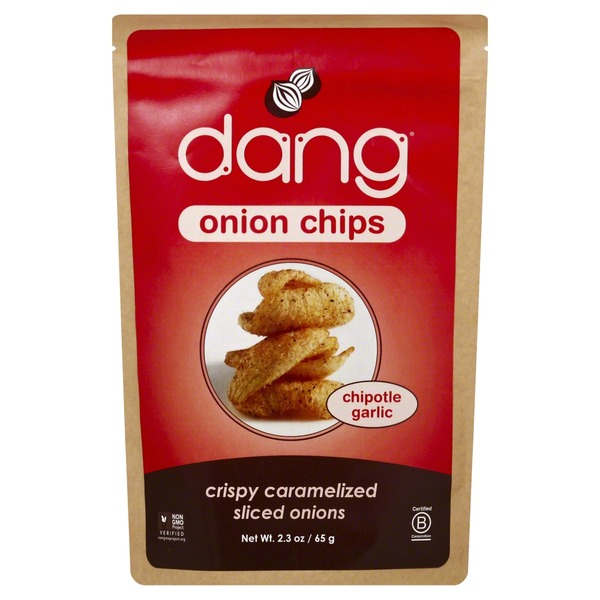 Dang Onion Chips, Chipotle Garlic
