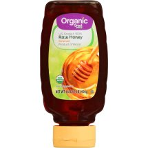 Great Value Organic Strained Raw Honey, 16 oz
