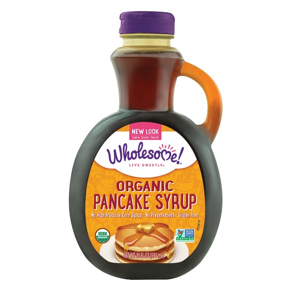 Wholesome Sweeteners Organic Pancake Syrup