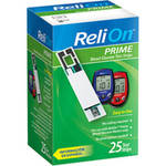 ReliOn Prime Blood Glucose Test Strips