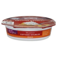 Breakstone's Cottage Doubles Peach Cottage Cheese & Topping