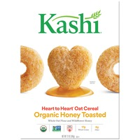 Kashi Heart to Heart Organic Honey Toasted Oat Cereal