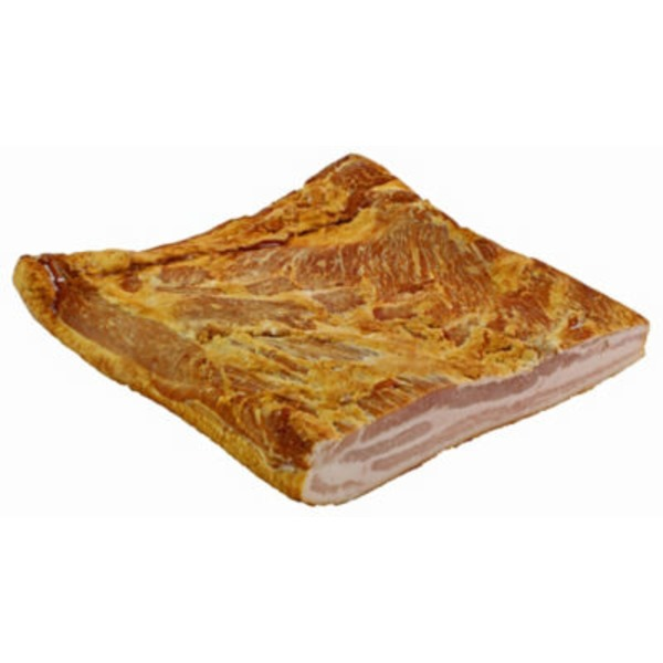 Natural Berkshire Uncured Applewood Smoked Slab Bacon
