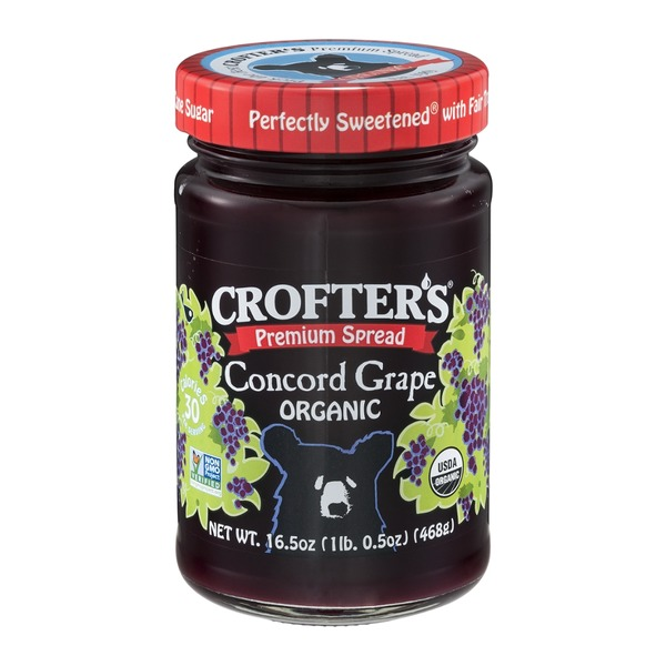 Crofter's Premium Spread Concord Grape Organic