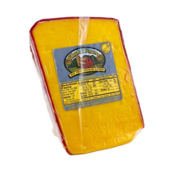 Wilmot Farms Rat Trap Cheddar Cheese, Sold by the Pound