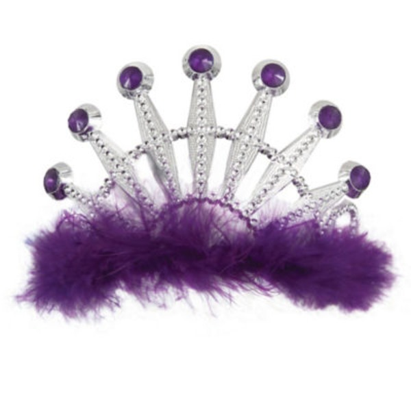 Unique Purple Bling Tiara