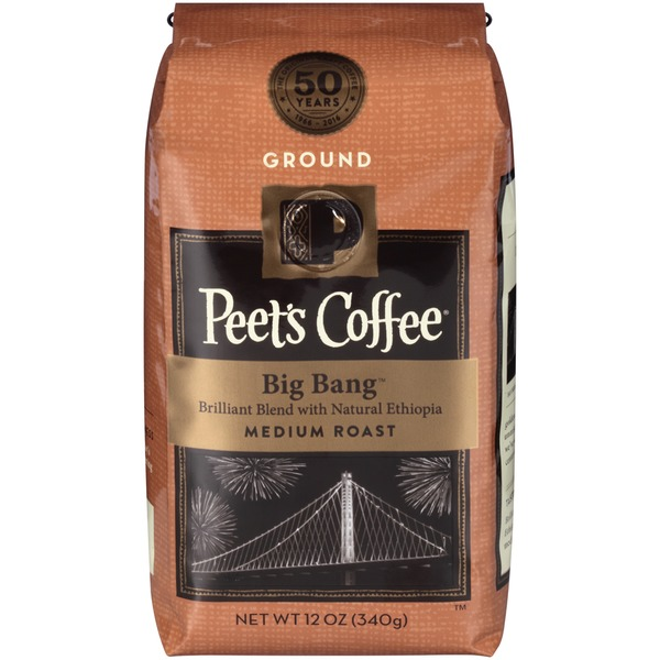 Peet's Coffee & Tea Big Bang Medium Roast Ground Coffee