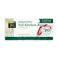 365 Tall Kitchen Drawstring Bags