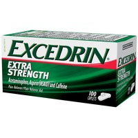 Excedrin Extra Strength Acetaminophen, Aspirin (NSAID) and Caffeine Caplets Pain Reliever/Pain Reliever Aid