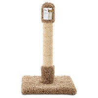 You & Me Claw Pleasing Scratcher Post for Cats