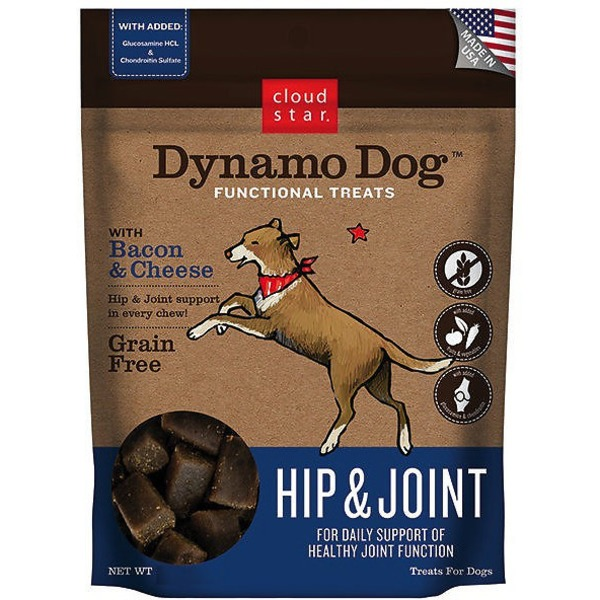 Cloud Star Hip and Joint Soft Chew Dog Treats With Bacon and Cheese