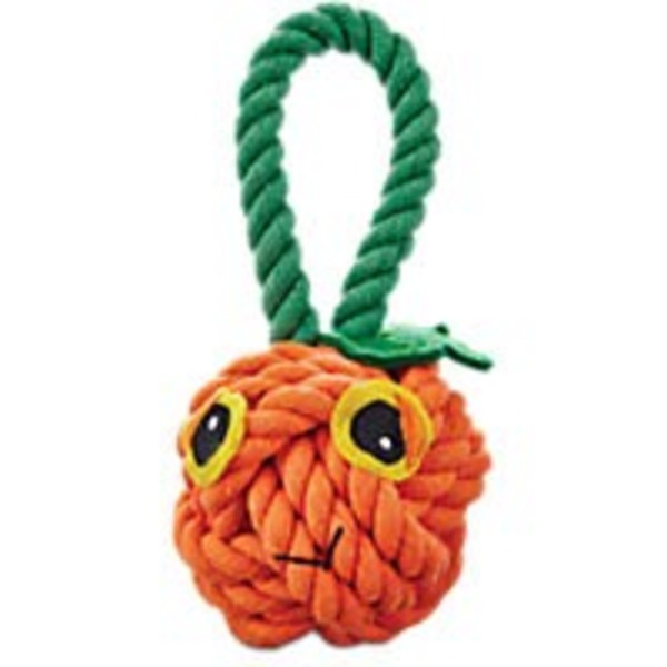 Petco Medium Halloween All Rope Pumpkin Tug Dog Toy