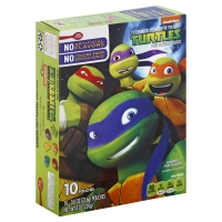 Betty Crocker Fruit Flavored Snacks Teenage Mutant Ninja Turtles
