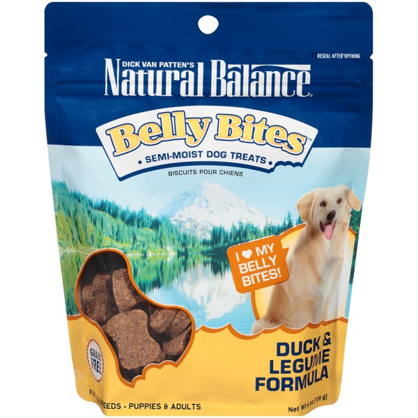 Natural Balance Belly Bites Duck & Legume Formula Dog Treats