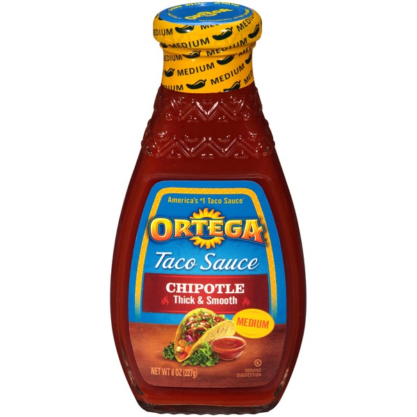 Ortega Medium Chipotle Taco Sauce