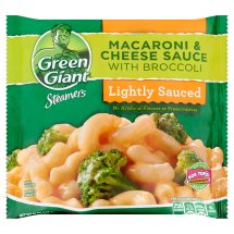 Green Giant Steamers Lightly Sauced Macaroni & Cheese Sauce with Broccoli, 12 oz