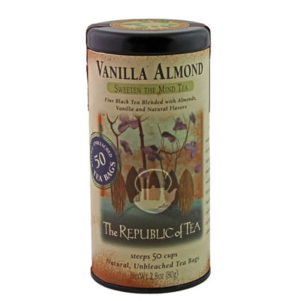 The Republic of Tea Vanilla Almond Sweeten the Mind Tea