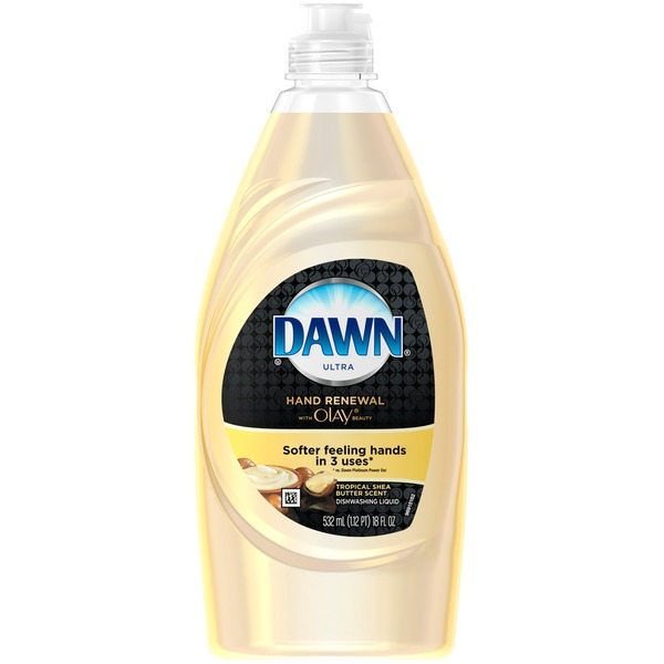 Dawn Ultra Hand Renewal Tropical Shea Butter Scent Dishwashing Liquid