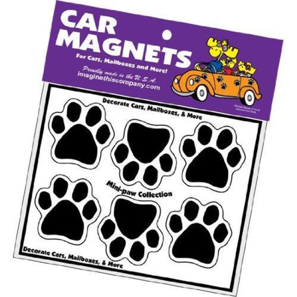 imaginethiscompany.com Mini Paws Magnet
