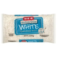 H-E-B Medium Grain White Enriched Rice