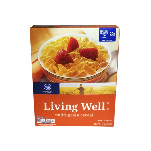 Kroger Living Well Cereal
