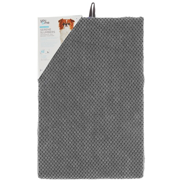 You & Me Supreme Slumbers Gray Orthopedic & Memory Foam Mat 18