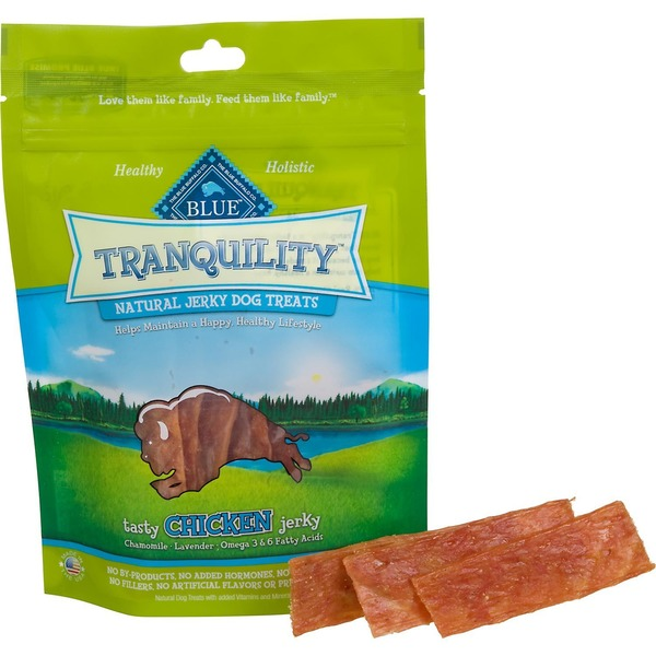 Blue Buffalo Tranquility Natural Jerky Dog Treats Chicken