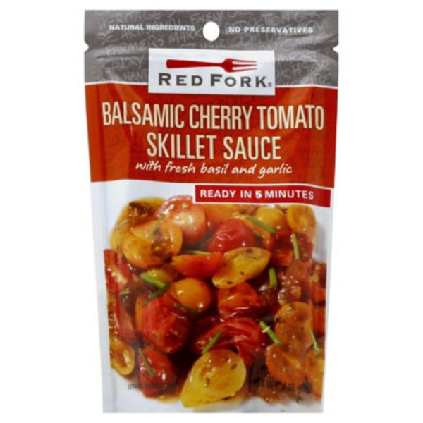 Red Fork Skillet Sauce, Balsamic Cherry Tomato
