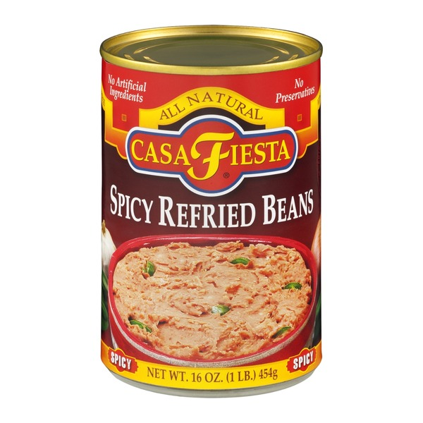 Casa Fiesta All Natural Spicy Refried Beans