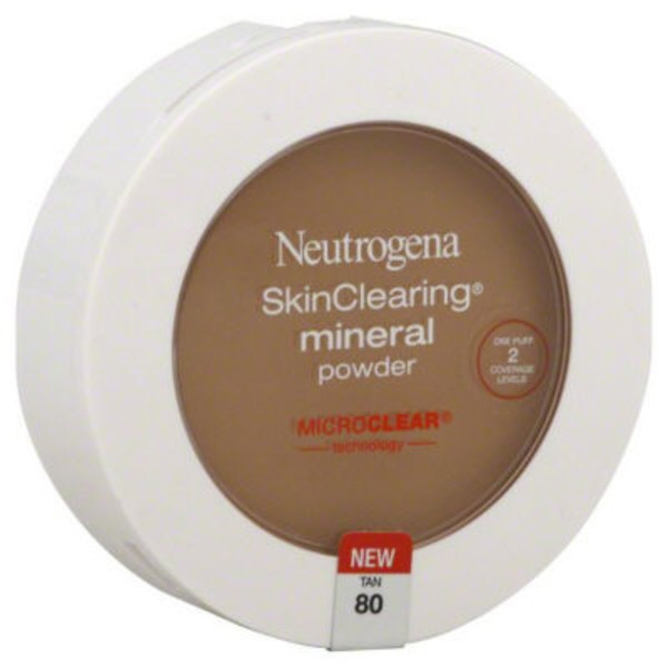 Neutrogena® Powder Foundation Compact Tan / 80 Mineral Sheers®