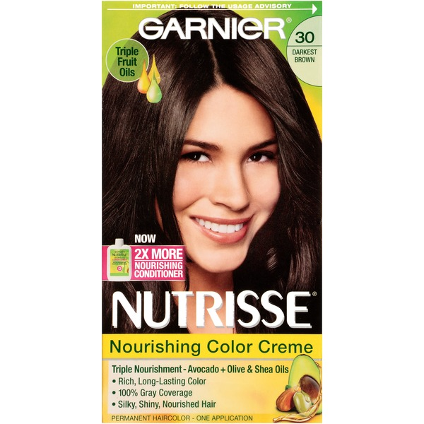 Nutrisse® 30 Darkest Brown (Sweet Cola) Nourishing Color Creme