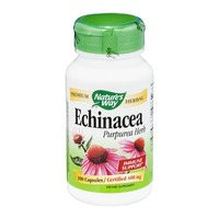 Nature's Way Echinacea Purpurea Herb 400mg Capsules - 100 CT
