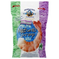 Henry & Lisa's Natural Shrimp, Uncooked, Peeled, Tail-on, Medium Size