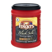 Folgers Black Silk Ground Coffee Dark