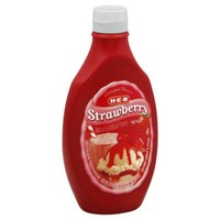 H-E-B Strawberry Syrup
