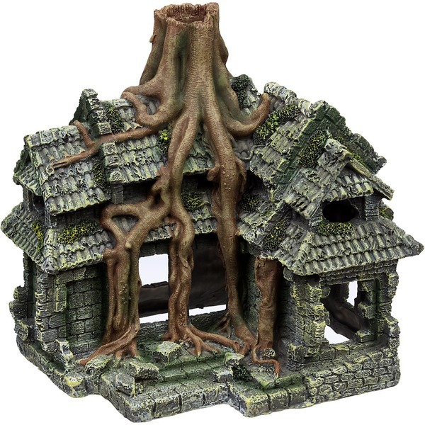 Petco Cambodian Ruins House Aquarium Ornament Ruins Collection