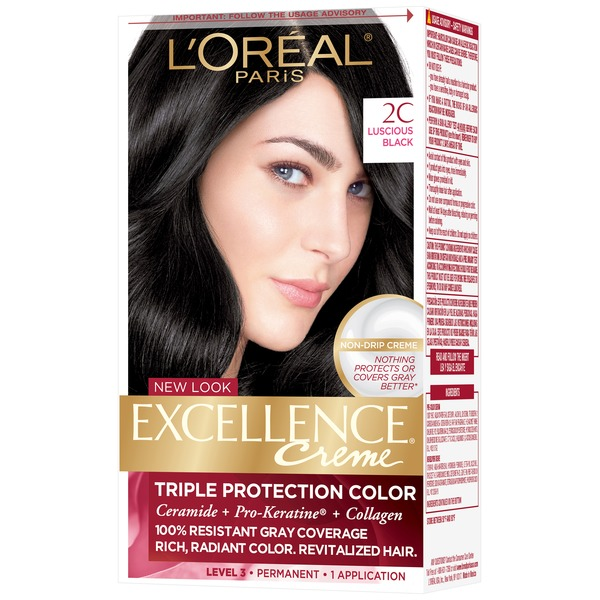 Excellence Creme 2C Luscious Black Hair Color