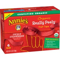 Annie's Homegrown Organic Really Peely Swirly Strawberry Fruit Tape