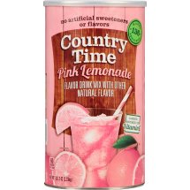 Country Time Drink Mix, Pink Lemonade, 82.5 Oz, 1 Count