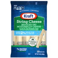 Kraft Natural Cheese Snacks Mozzarella Made with 2% Milk String Cheese