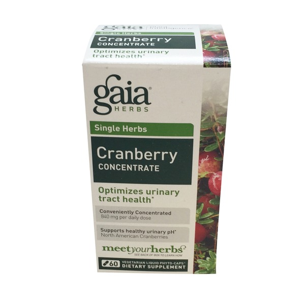 Gaia Herbs Cranberry Concentrate Capsules