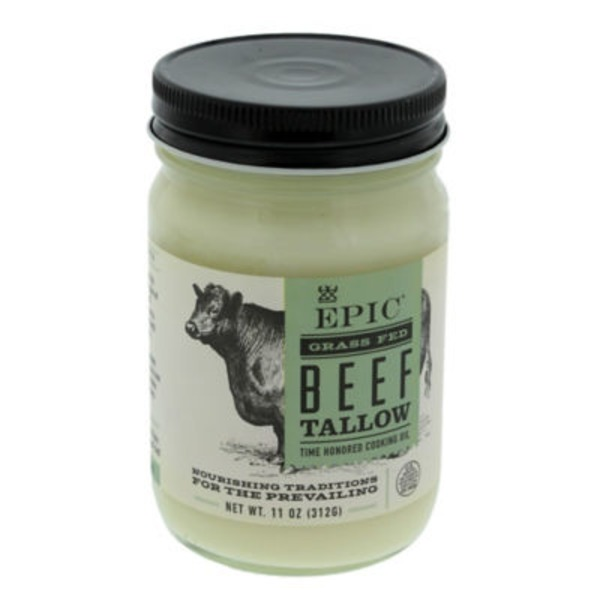 Epic Grass Fed Beef Tallow