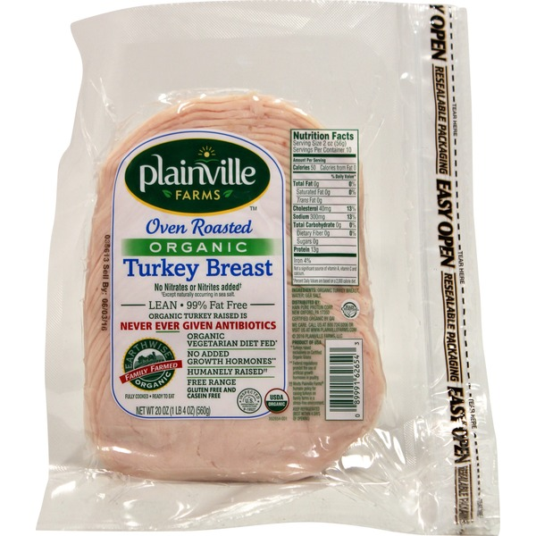 Plainville Farms Organic Turkey Breast