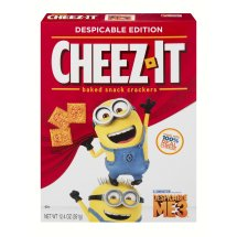 Cheez-It Despicable Me 3 Baked Snack Crackers, 12.4 OZ