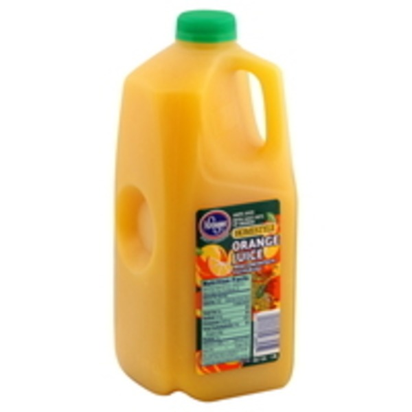 Kroger 100% Florida Orange Juice Homestyle